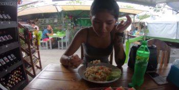 คลิปโป๊แอบถ่าย กะหรี่ไทยขายตัว โดนฝรั่งหลอกไปกินข้าวพาไปเย็ดต่อ